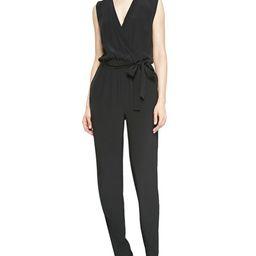 Diane von Furstenberg          Rawena Waist-Tie Jumpsuit   Neiman Marcus