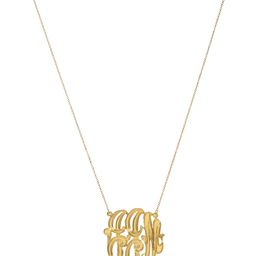 Linear Monogram Necklace (MORE COLORS)   Love Always