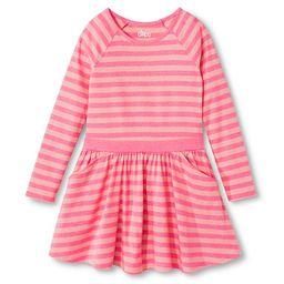 Girls' Basic Sleeve A Line Dress - Sunglow Pink - Circo™ | Target