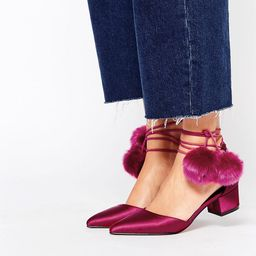 ASOS SAY YOU WILL Pointed Heels - Oxblood | ASOS US