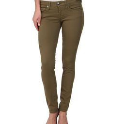 True Religion - Shannon Overdye 1971 Jeans in Olive (Olive) Women's Jeans   6pm
