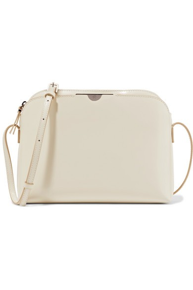The Row - Multi Pouch Leather Shoulder Bag - Ivory