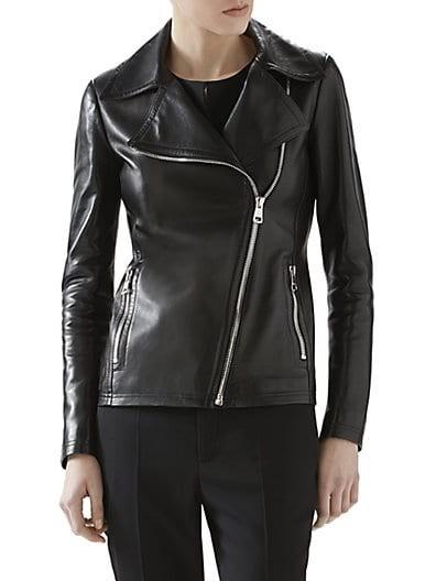 Plonge Leather Moto Jacket