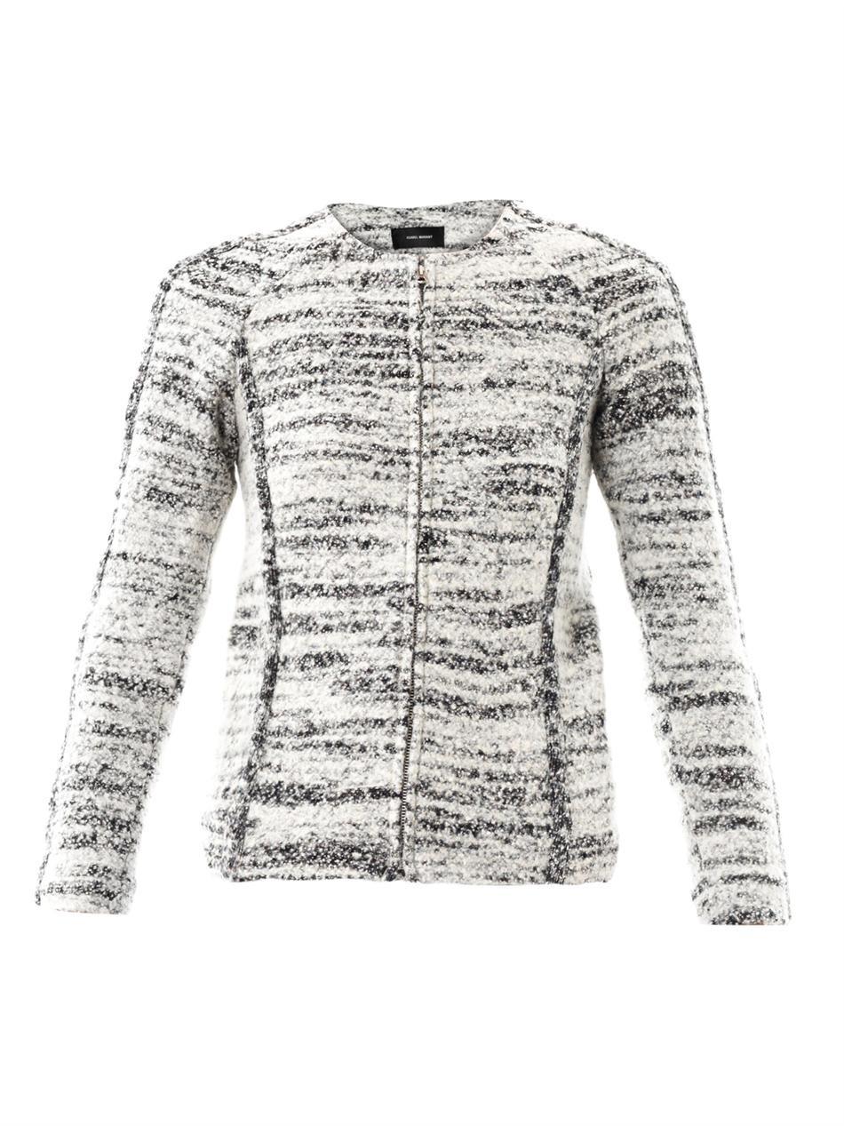 Imperia boiled-wool jacket