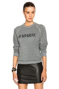 Rodarte Radarte Poly-Blend Sweatshirt in Gray