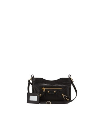 Giant 12 Golden Hip Crossbody Bag, Black - Balenciaga
