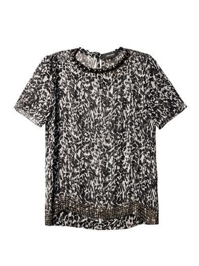 Owen leopard-print blouse
