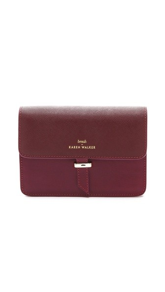 Benah for Karen Walker Juliet Clutch