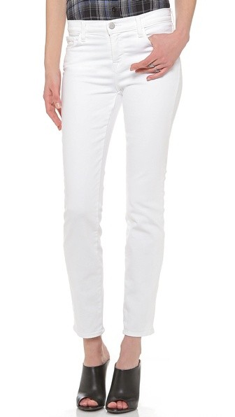 8312 Mid Rise Cropped Rail Jeans