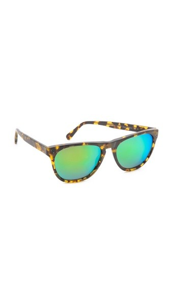 Daddy B Mirrored Sunglasses