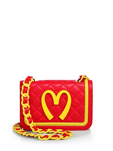 Fast-Food Quilted-Leather Shoulder Bag
