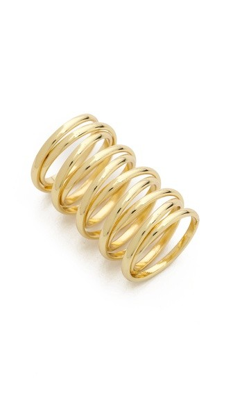 Spiral Cage Ring