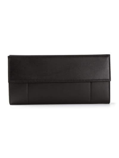 flap fastening shoulder bag