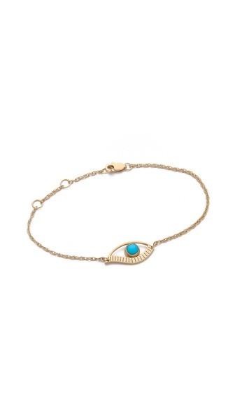Priscilla Mini Eye Bracelet
