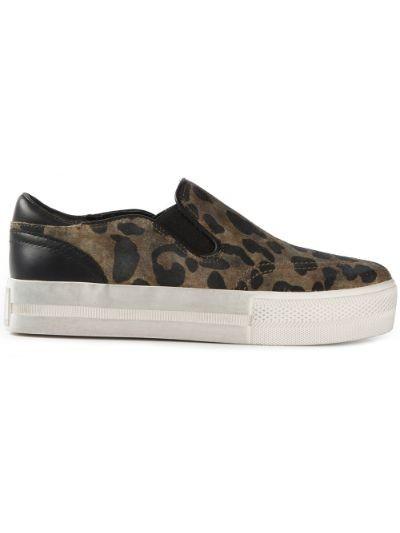 'Jungle' skate sneakers