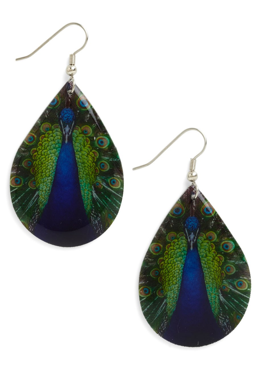 Poetic Plumage Earrings
