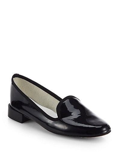 Tito Patent Leather Smoking Slippers
