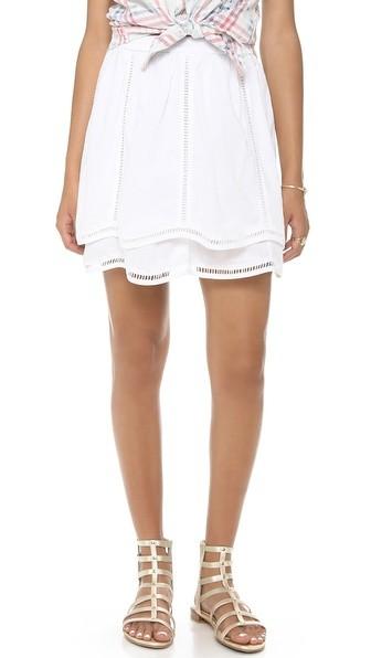 Isabelle Eyelet Skirt
