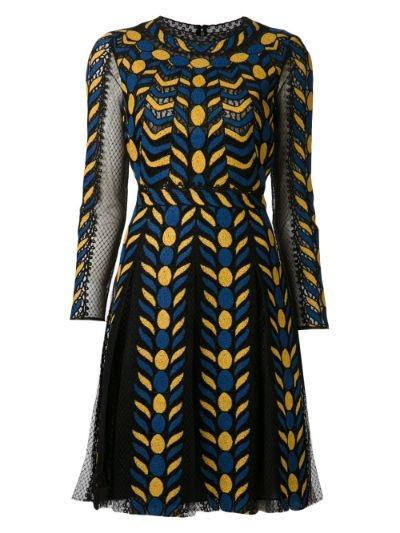 organza pleat dress