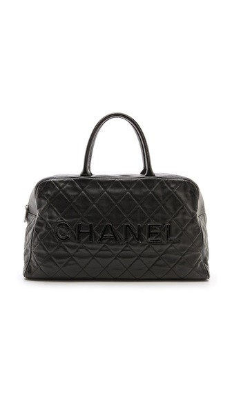Chanel Caviar Duffel Bag