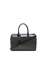 Studded Duffle 6 in Black