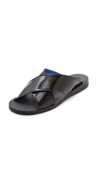 Caprese Cross Band Sandals
