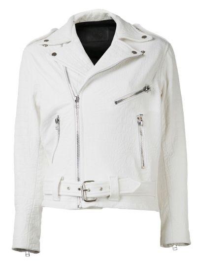 classic moto croc jacket