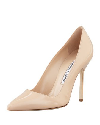 BB Patent 105mm Pump, Nude (Made to Order)
