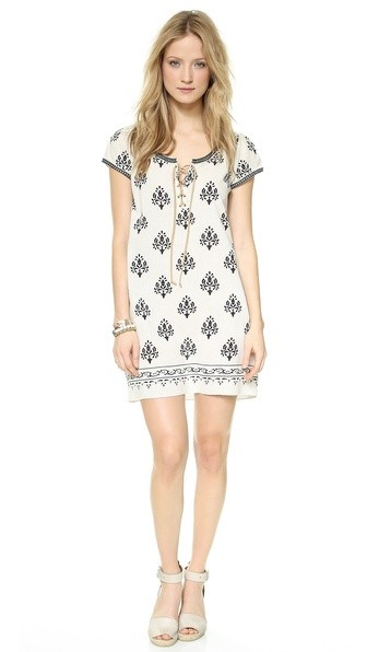 Merna Silk Tunic Dress