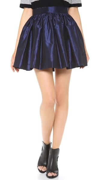 Navy Party Skirt