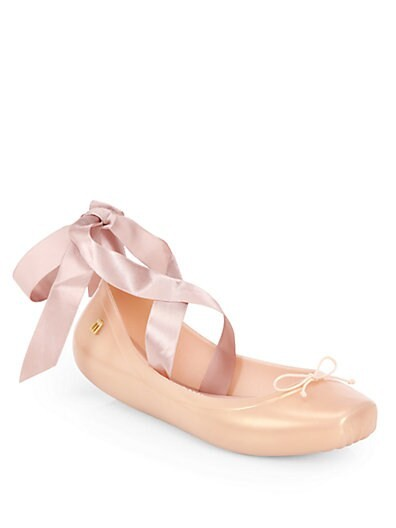 Silk Ribbon Ballet Flats