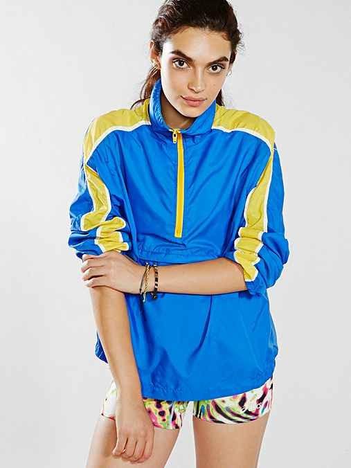 Vintage Nike Yellow Stripe Running Jacket
