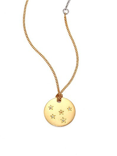 Starlight Two-Tone Pendant Necklace