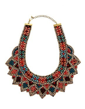 ASOS Celebration Bib Necklace