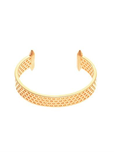 Aerator gold-plated cuff