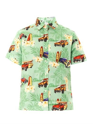 Mela Hawaiian-print shirt