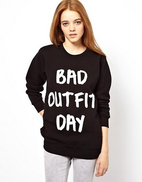 Local Heroes Bad Outfit Day Sweatshirt