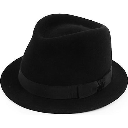 Sean felt trilby hat