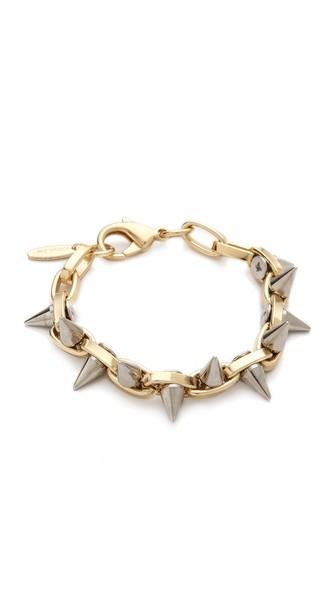 Metal Luxe Spike Bracelet