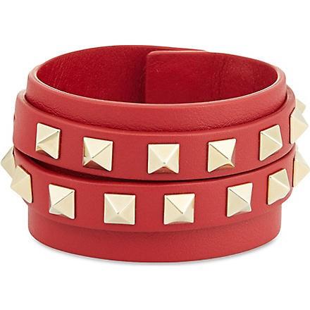 Double wrap stud bracelet