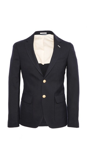 Hopsack 2 Button Blazer