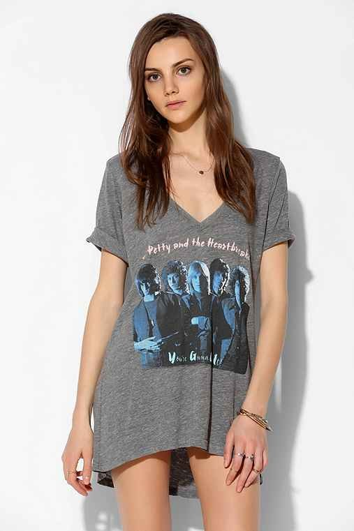 Chaser Tom Petty And The Heartbreakers Tee Dress