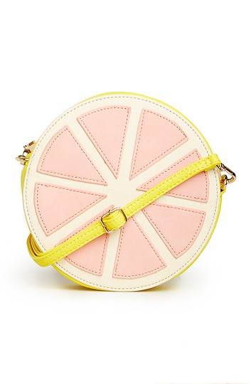 Grapefruit Cross Body Purse