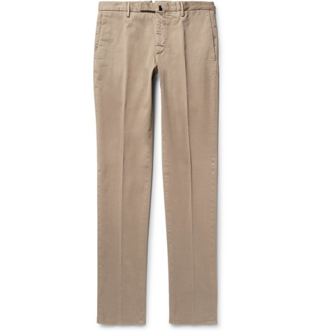 Four Season Slim-Fit Cotton-Blend Chinos