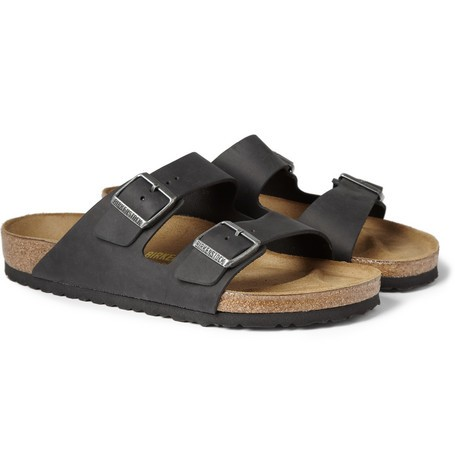 Arizona Matte-Leather Sandals