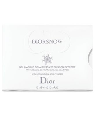 Diorsnow White Reveal Cooling Gel Mask