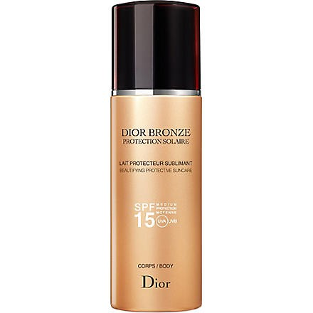 Dior Bronze sun protection body suncare spray SPF 15 200ml
