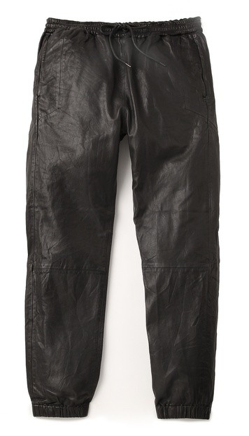 Cadmus Leather Jogging Pants