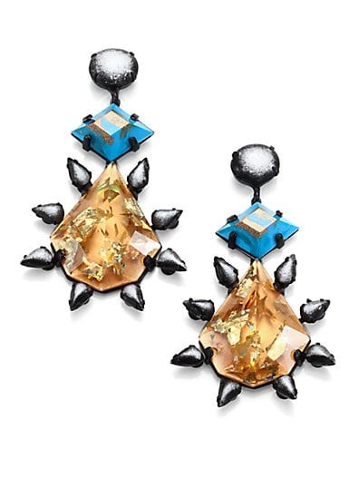 Celeste Crystal Drop Earrings