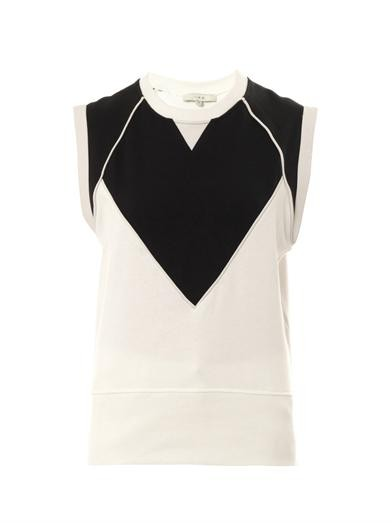Zarya sleeveless sweatshirt